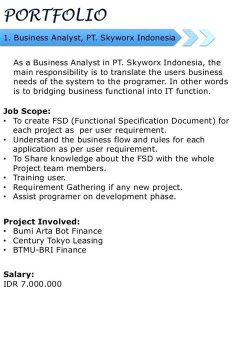 Career Portfolio Template by Exle Career Portfolio