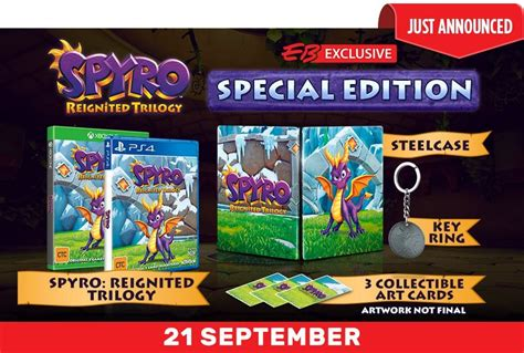 spyro reignited trilogy special edition announced  eb
