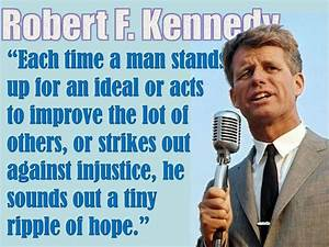 Robert F Kenned... Robert K Kennedy Quotes