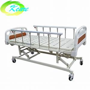 Professional Manual Hospital Bed Icu Bed With Three Crank
