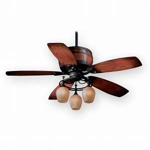 Ceiling fan design aireryder vaxcel cabernet rustic