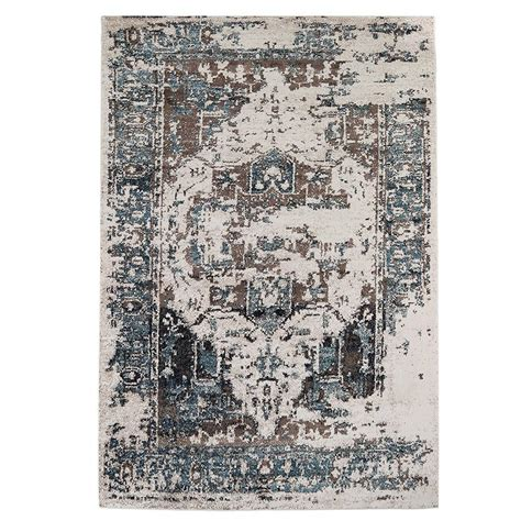 Teal And Brown Area Rugs by Lnc Brown Teal 8 Ft X 10 Ft Area Rug A034482 The Home