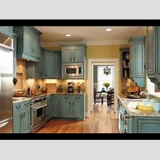Chalk Paint On Kitchen Cabinets  Youtube