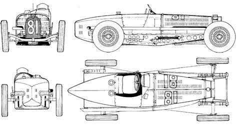 Bugatti Veyron Blueprint by 1934 Bugatti Type 59 Formula V3 Blueprints Free Outlines