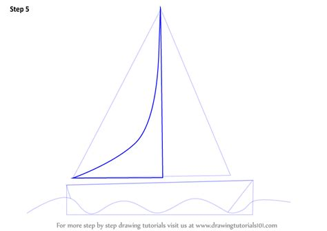 Boat Shape Drawing by Learn How To Draw A Boat For Boats And Ships Step