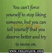 you can t force yourse...