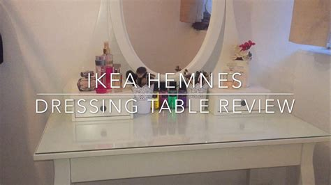 Ikea Hemnes Dressing Table Review & Makeup Collection