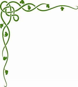 Green Celtic Vine Clip Art at Clker.com - vector clip art ...
