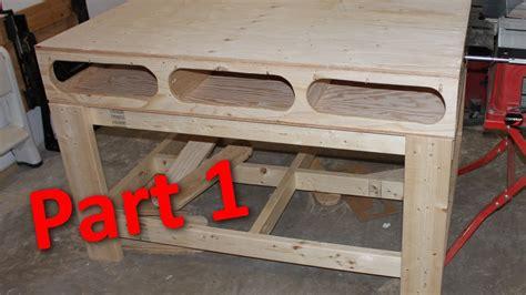 building  ron paulk workbench part