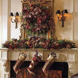 17 Best images about Christmas Holiday Mantels on