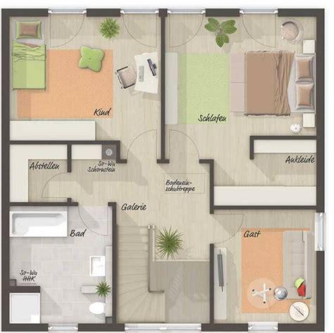 Stadtvilla Grundrisse 140 Qm by Die Stadtvilla 145 Grundriss Obergeschoss Ihr Town
