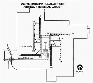Denver  Airport Layout Photograph By Granger