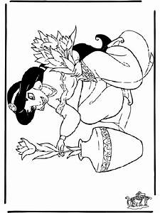 Aladdin 8 Malvorlagen Aladdin