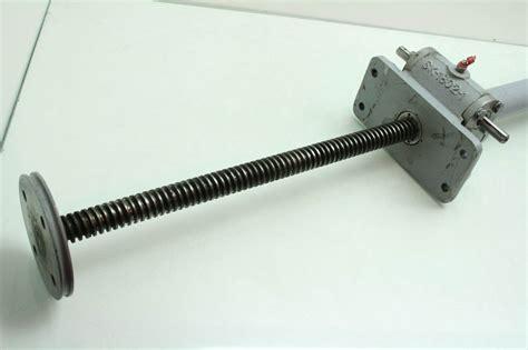 Duff Norton M1801-18 Worm Gear Screw Jack Actuator 2 Tons