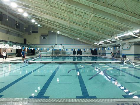 Pool Being Converted To Swim Meet Configuration