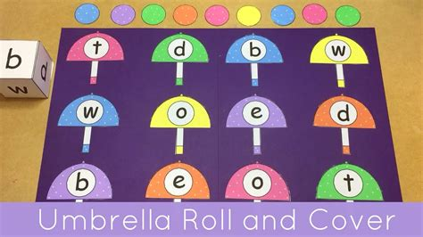 umbrella roll and cover file folder for preschool and 836 | maxresdefault