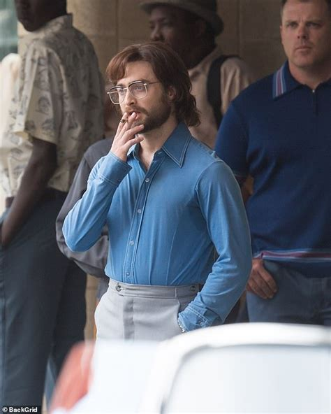 They get arrested and sentenced for creating leaflet bombs and sent to pretoria prison for white males. Daniel Radcliffe smokes a cigarette on the set of his new ...