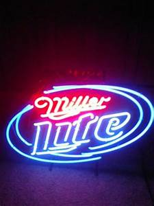 Miller lite neon sign for sale