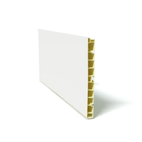 plinthe meuble cuisine plinthe de cuisine pvc blanc brillant l200 x h15 cm sokleo
