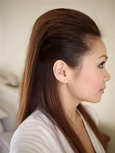 Ebeautyblog, Com, Hair, Tutorial, Easy, Sleek, Hairstyle