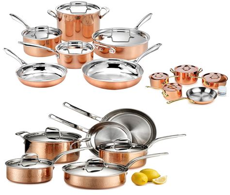 copper cookware cooking china five