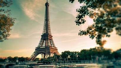 Paris Tower Eiffel Desktop Backgrounds Wallpapers Clouds