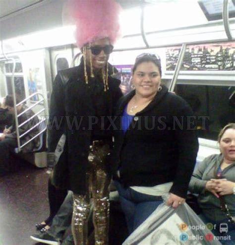 New York Subway Weird People