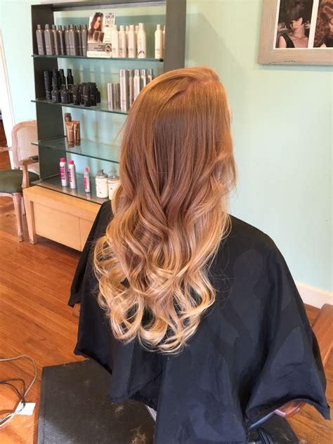 strawberry blonde ombre hair strawberry blonde hair