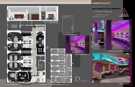 Interior Architecture & Design Portfolio Sample By