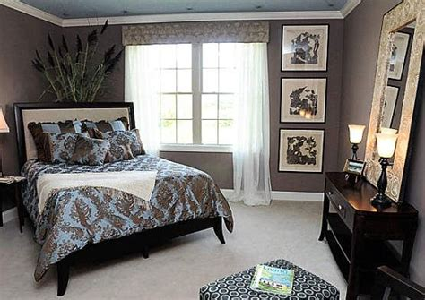 angled bed  layoutcool home bedroom layouts blue brown bedrooms