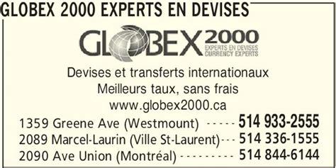 bureau de change near me globex 2000 experts en devises westmount qc 1336