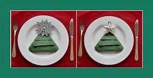 Servietten Tannenbaum Falten : weihnachtsdeko ~ Eleganceandgraceweddings.com Haus und Dekorationen