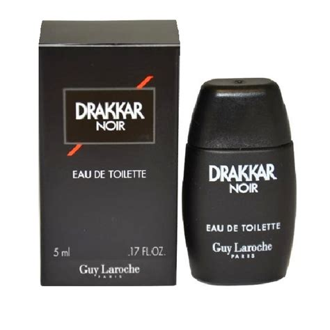 drakkar noir eau de toilette spray drakkar noir mini cologne by laroche 0 17oz 5ml eau de toilette spray for