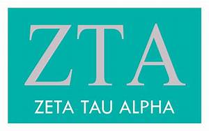 zeta tau alpha greek wear With zeta tau alpha letters
