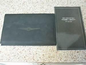 2011 Chrysler 200 Convertible Owners Manual    User Guide