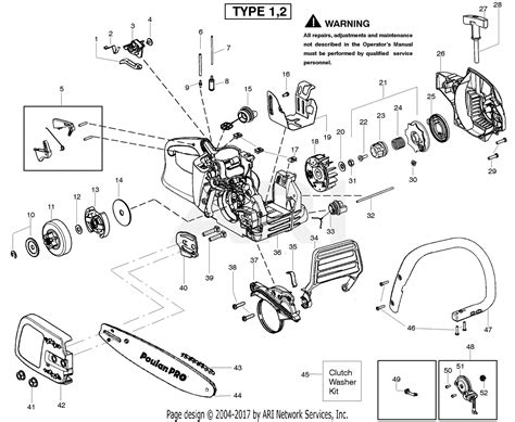 poulan pp gas  type   poulan pro parts