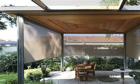 tettoie in legno e vetro come realizzare verande pergolati e tettoie per vivere