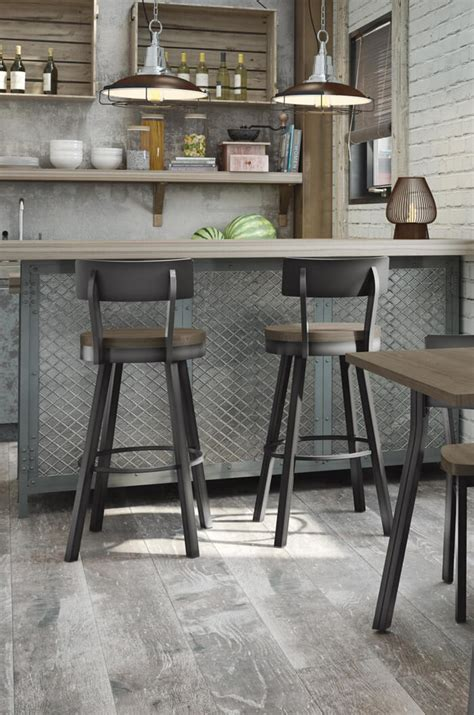 whitdistressed wood bar stools amisco s swivel counter stool w distressed wood seat 1246