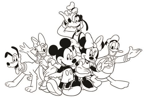 disney mickeys typing adventure coloring page disney family