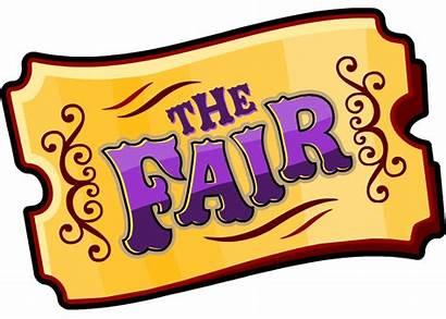 Fair March Boards Bulletin Clip Ticket Carnival