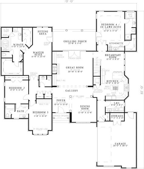 house plans and more bluff crest luxury home plan 055s 0049 house plans and more