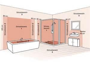 badezimmer leuchten die schutzbereiche im bad leuchten sicher installieren le magazin