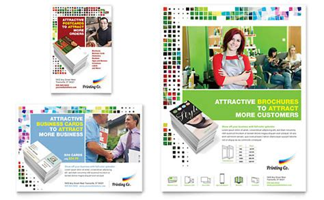 Printing Press Brochure Template by Printing Company Brochure Template Design
