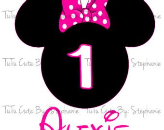 minnie mouse  birthday clipart   cliparts