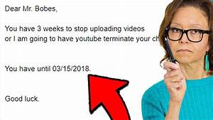 ONE OF MY FANS TEACHERS SENT ME ANGRY EMAIL... - YouTube