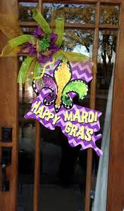 mardi gras door decoration choose your own state happy mardi