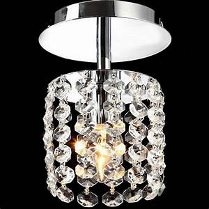 Crystal led chandeliers hallway small light lamp