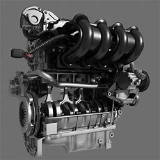 Car 4 Cylinder Engine 02 3d Model Max Fbx Cgtradercom