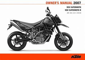 Ktm 950 Supermoto R 2007 Owner U2019s Manual