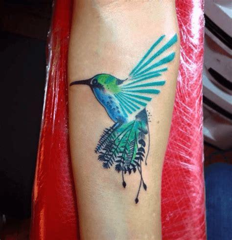 tatouage colibri significations  illustrations